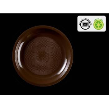 10 Assiettes ronde dessert chocolat