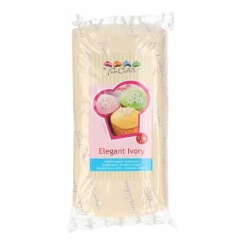 Pâte à sucre Funcakes Ivoire 1kg