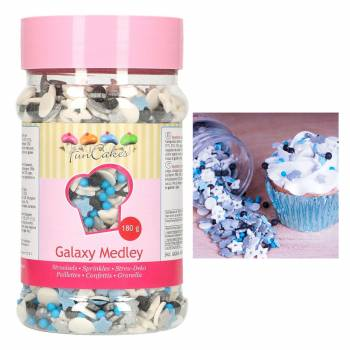 Confettis en sucre Galaxy Funcakes
