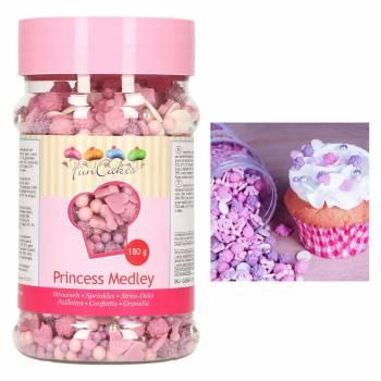 Confettis en sucre Princesse Funcakes