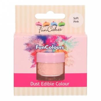 Colorant en poudre Funcakes rose pâle