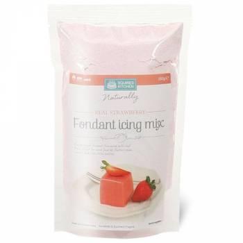 Mix glaçage fondant fraise Squire Kitchen