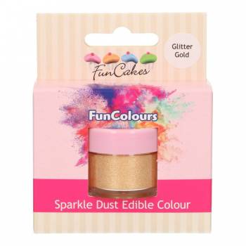 Paillettes alimentaire Funcakes or glitter