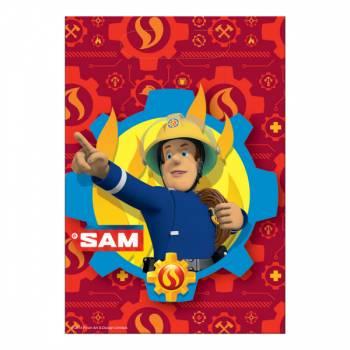 8 Sachets de fête Sam le pompier