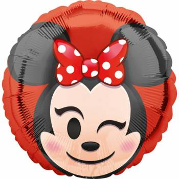 Ballon Alu Minnie emoticon
