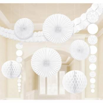 Kit décors de salle blanc baroque