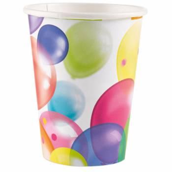 Lot 8 Gobelets Ballons