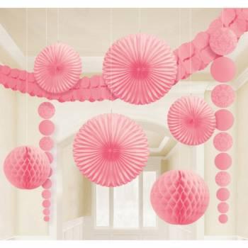 Kit deco pour salle rose baroque