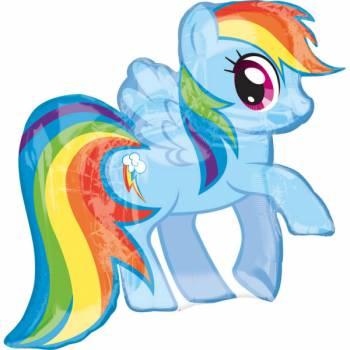 Ballon géant My little pony rainbow