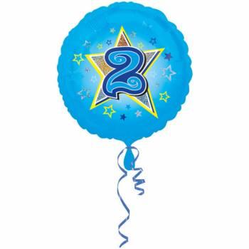 Ballon bleu 2 ans