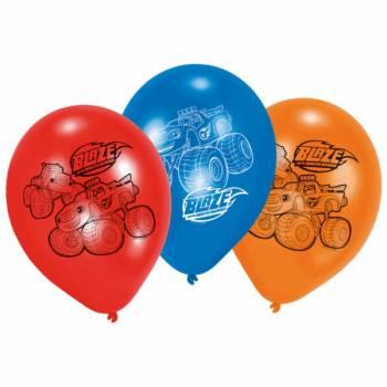 6 Ballons latex Blaze