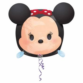 Ballon Minnie geek aluminium