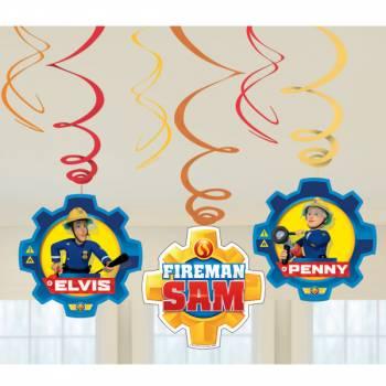 6 Suspensions Sam le pompier