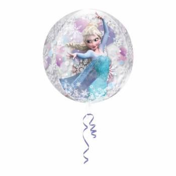 Ballon La reine des neiges transparent