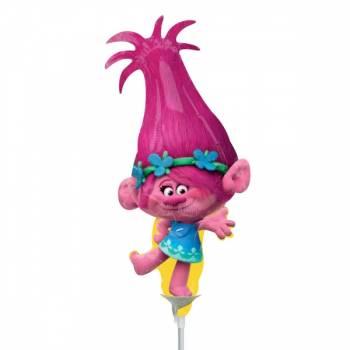 Mini ballon Poppy Trolls