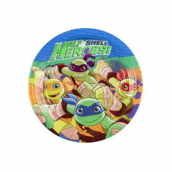 8 Assiettes dessert Tortue Ninja half Shell Heroes