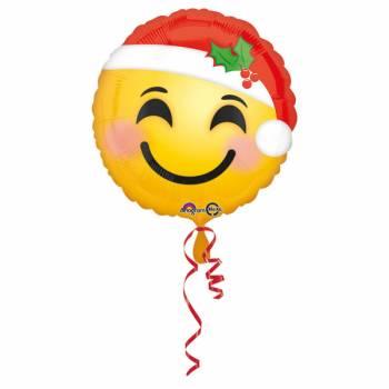 Ballon hélium Emoji Noël