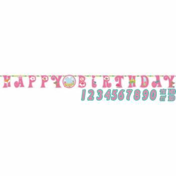 Bannière anniversaire Sweet princesse