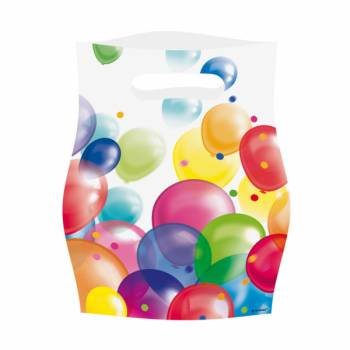 Lot 8 sachets Ballons