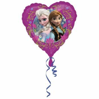 Ballon La reine des neiges coeur