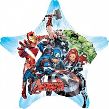 Ballon hélium géant étoile Avengers