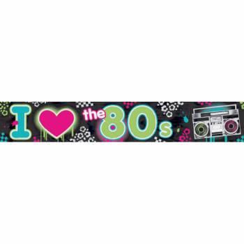 Bannière années 80
