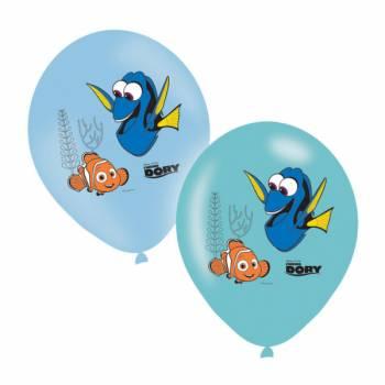 6 Ballons quadri Dory et Nemo