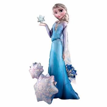 Ballon Mega géant Elsa Reine des Neiges