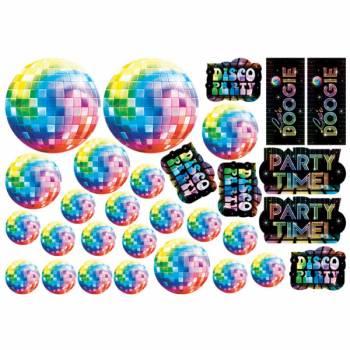30 décors muraux Disco