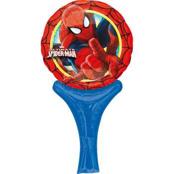 Ballon à main format Mini Spiderman