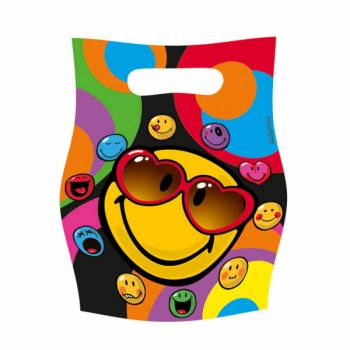 Lot 6 Sachets Smiley
