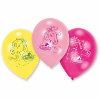 6 Ballons Cheval