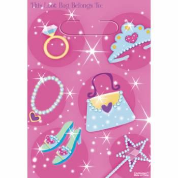Sacs cadeaux Princesse Girly