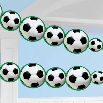 Guirlande de ballons de foot