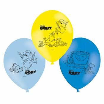 6 Ballons Dory et Nemo