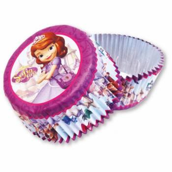 Caissettes cupcakes Princesse Sofia