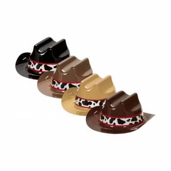 8 Mini chapeaux cow boy western