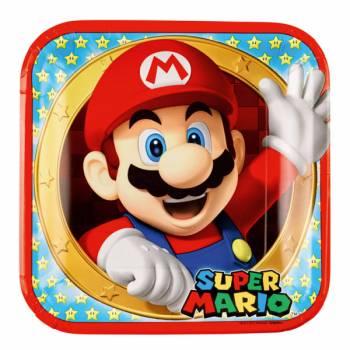 Lot 8 Assiettes Super Mario