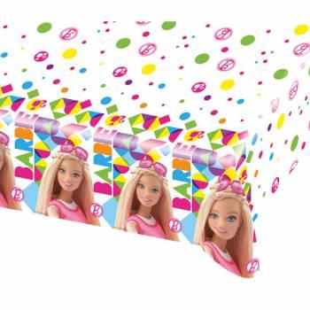 Nappe en plastique Barbie Pop