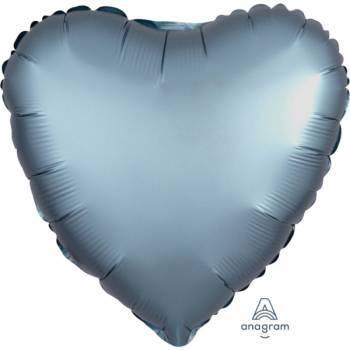 Ballon hélium satin luxe métal coeur
