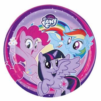 8 Assiettes My little pony & co