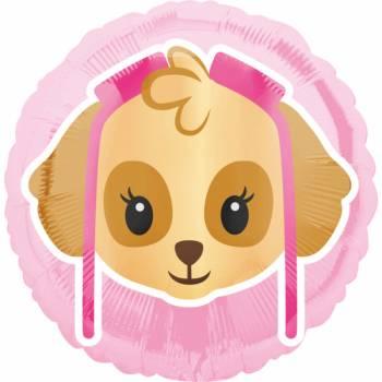 Ballon hélium emoji pat patrouille girly
