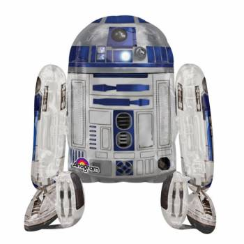 Ballon super géant alu Star Wars R2 D2