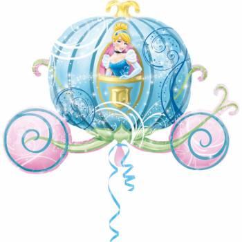 Ballon cendrillon carrosse
