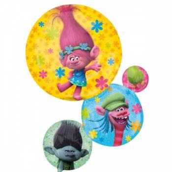 Ballon format géant effigie Trolls