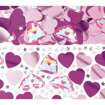 Confettis de table princesse girly