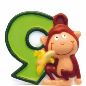 Bougie Animaux de la Jungle n° 9
