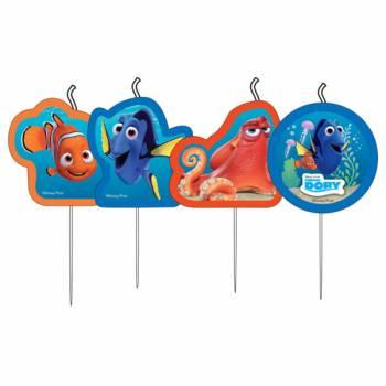 4 Bougies pics Dory et Nemo
