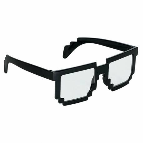 05e0d647327508 Lunette délire Pixel black   Thema Deco, achat de déguisement et ...