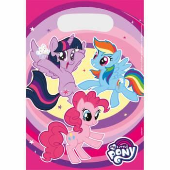 8 Sacs anniversaire My little pony